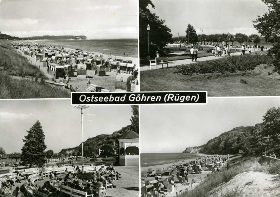Ostseebad Göhren-Rügen 1984