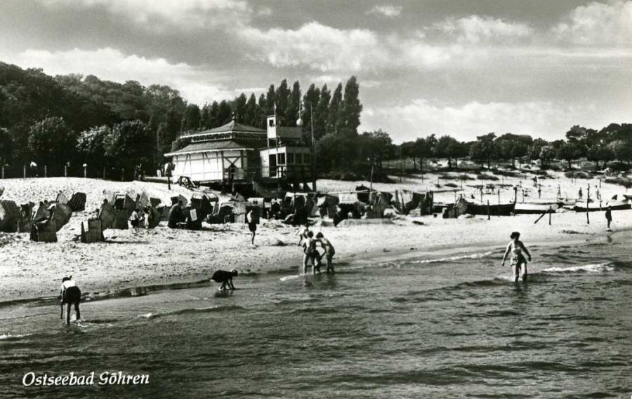 Ostseebad Göhren 1957