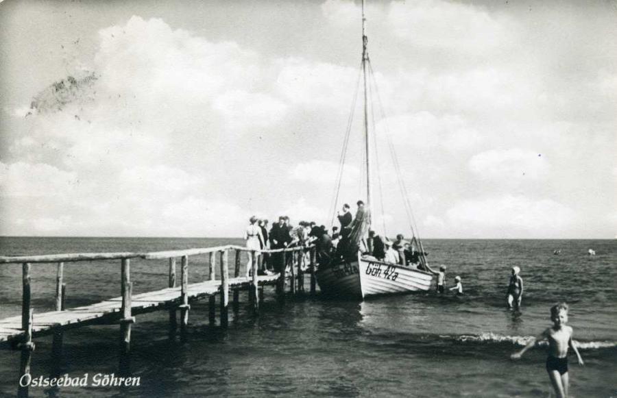Ostseebad Göhren 1959