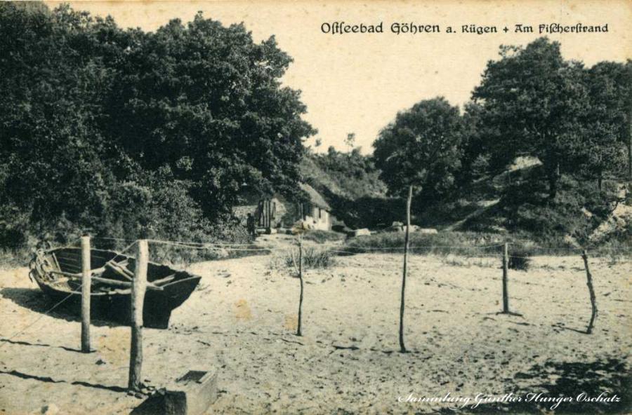 Ostseebad Göhren Am Fischerstrand
