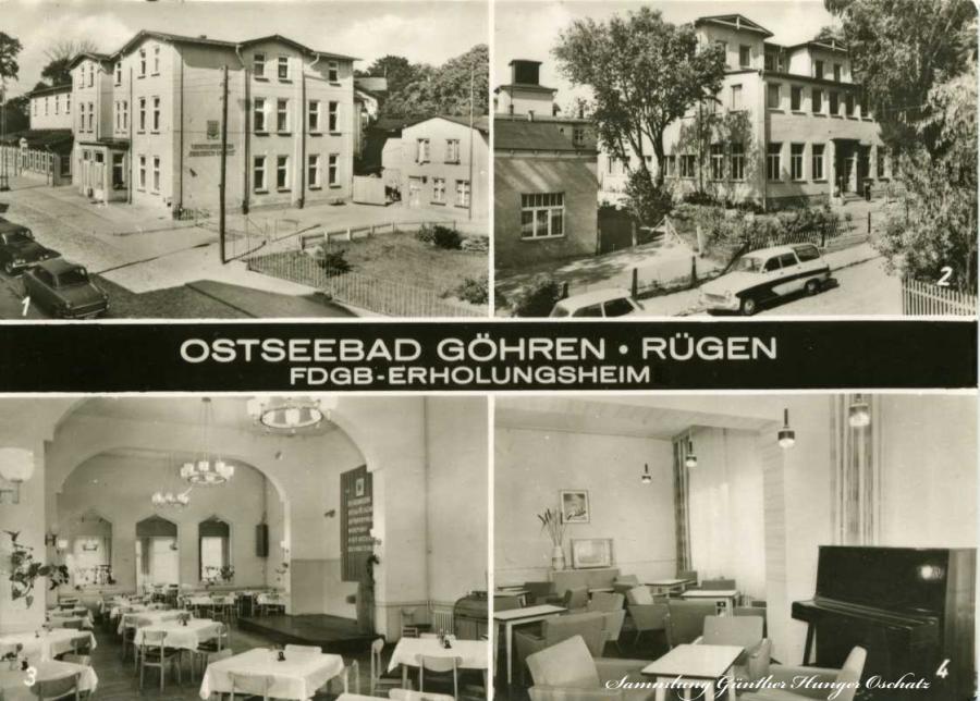 Ostseebad Göhren FDGB-Erholungsheim