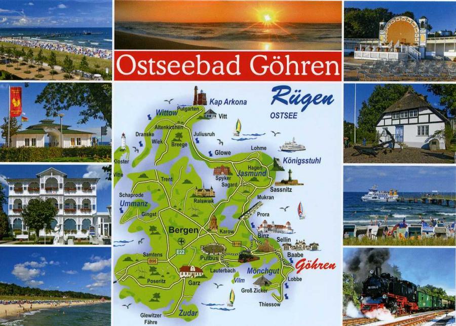 Ostseebad Göhren  Rügen