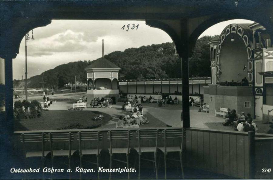 Ostseebad Göhren a Rügen Konzertplatz