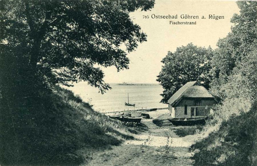 Ostseebad Göhren Fischerstrand 1916