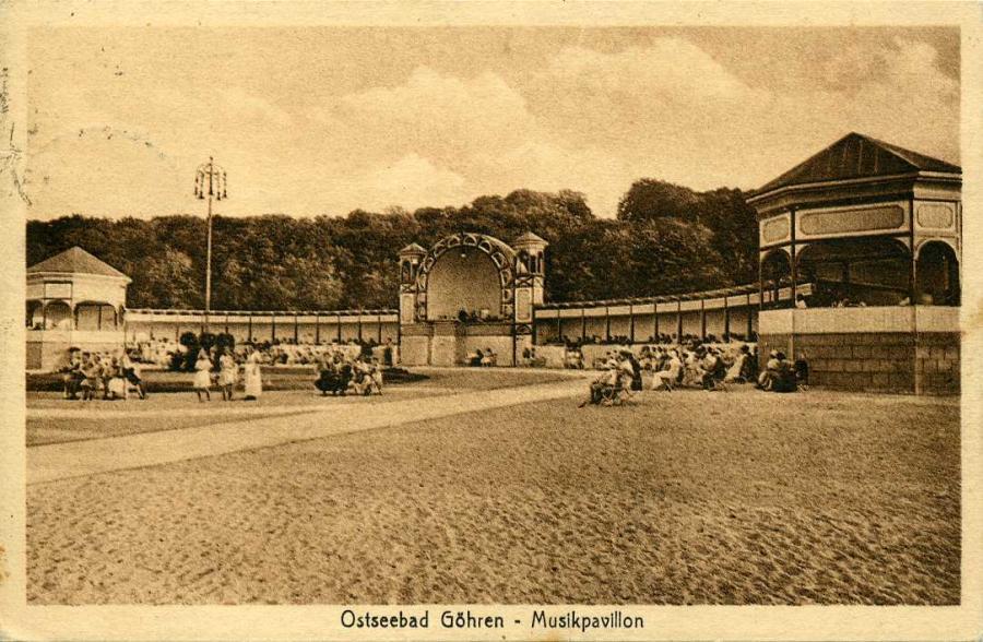 Ostseebad Göhren Musikpavillon 1925