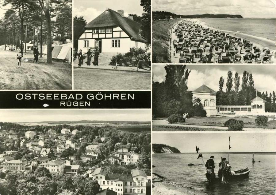 Ostseebad Göhren 1981
