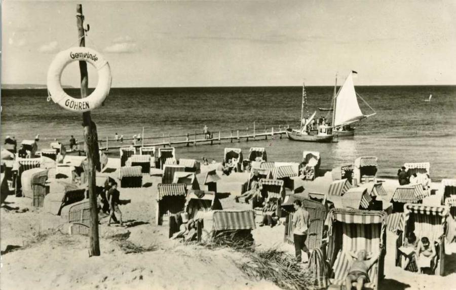 Ostseebad Göhren Strand 1958