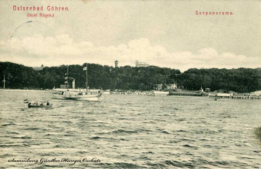 Ostseebad Göhren Seepanorama