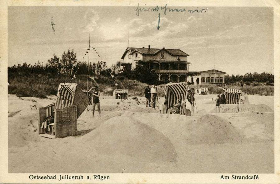 Ostseebad Juliusruh a Rügen Am Strandcafe