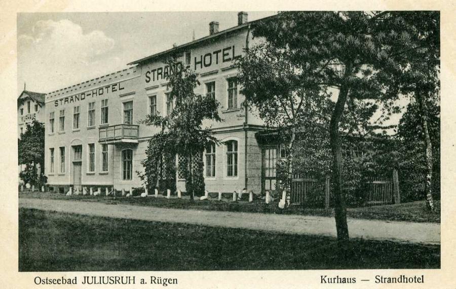Ostseebad Juliusruh a Rügen Kurhaus Strandhotel