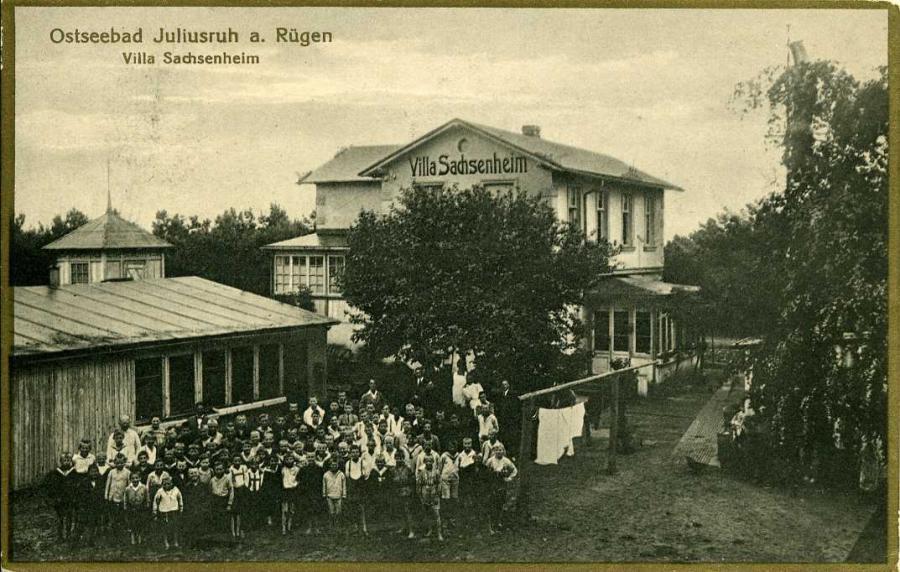 Ostseebad Juliusruh a Rügen Villa Sachsenheim