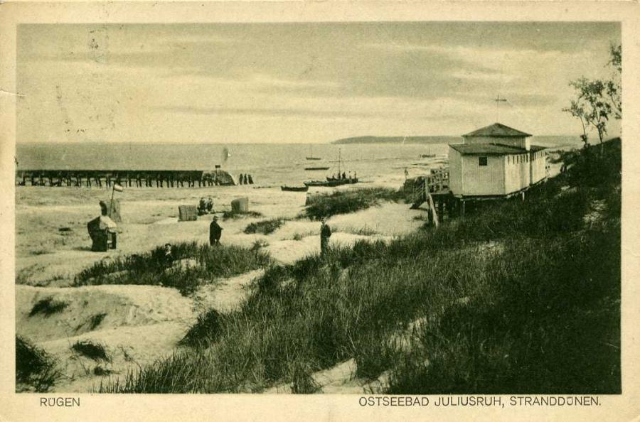 Ostseebad Juliusruh Stranddünen 1925