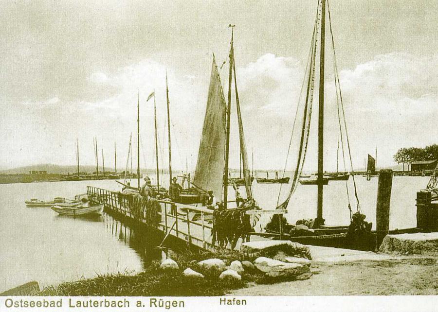 Ostseebad Lauterbach a Rügen Hafen