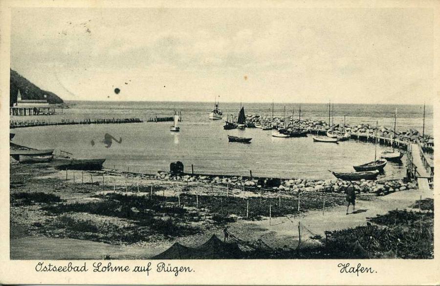 Ostseebad Lohme Hafen1935
