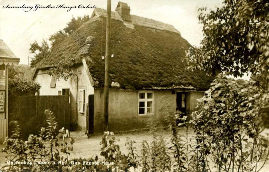 Ostseebad Lohme a. Rg. Das älteste Haus