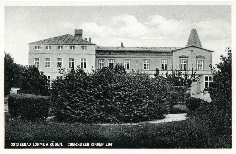 Ostseebad Lohme Chemnitzer Kinderheim