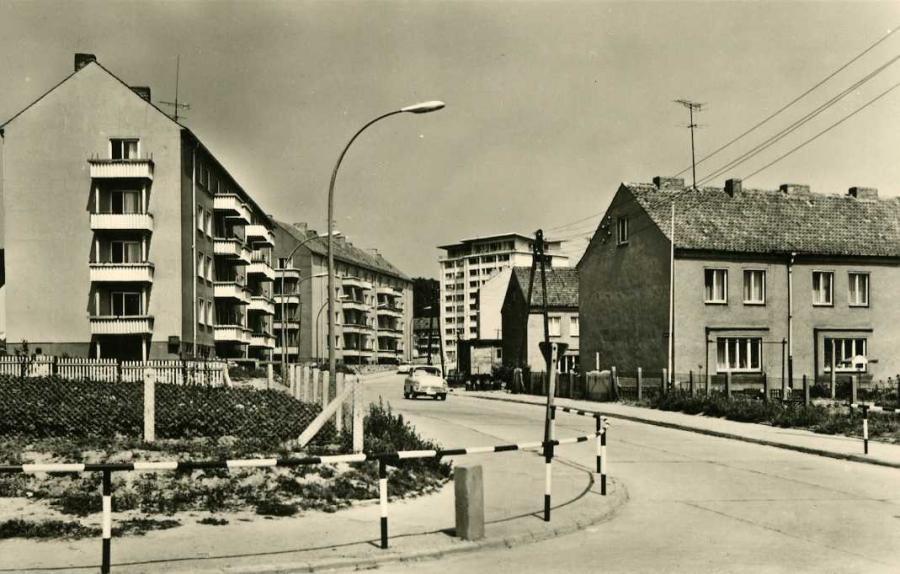 Ostseebad Sassnitz A.-Bebel-Straße 1966