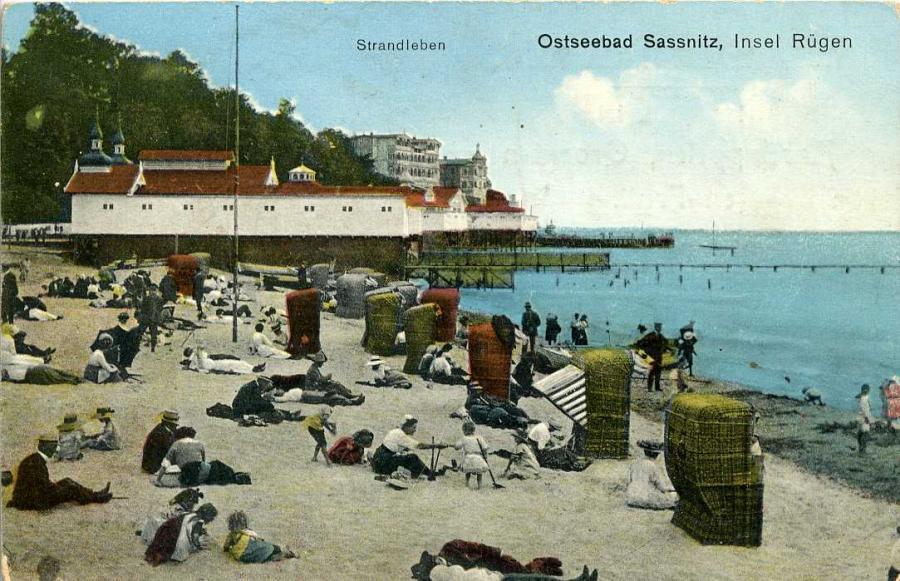 Ostseebad Sassnitz Strandleben