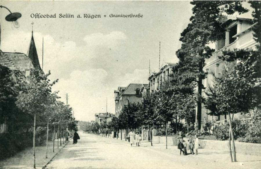 Ostseebad Sellin Granitzerstraße 1926