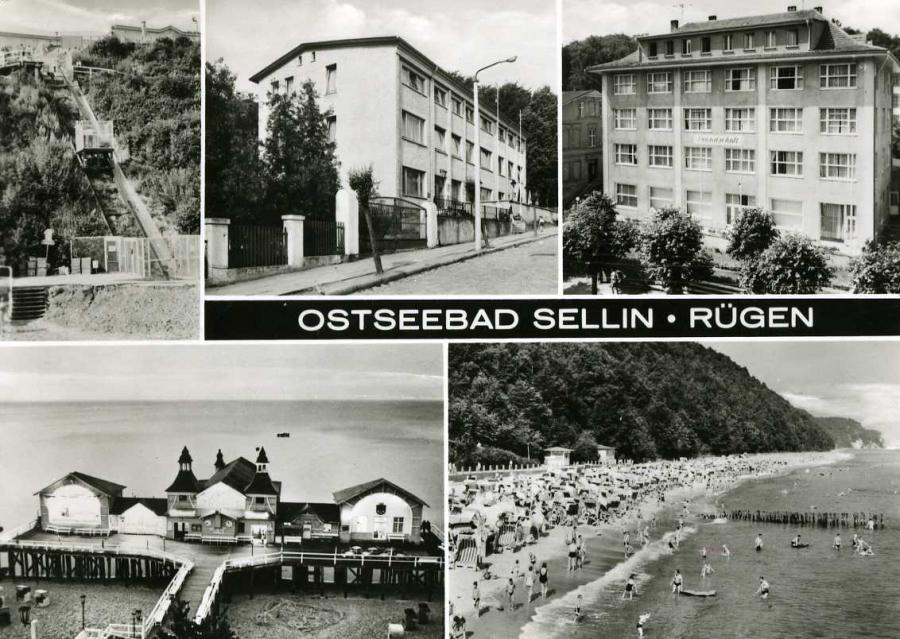 Ostseebad Sellin Rügen 1975