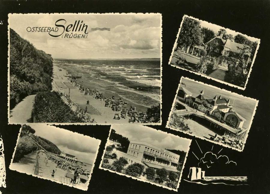 Ostseebad Sellin Rügen 1964