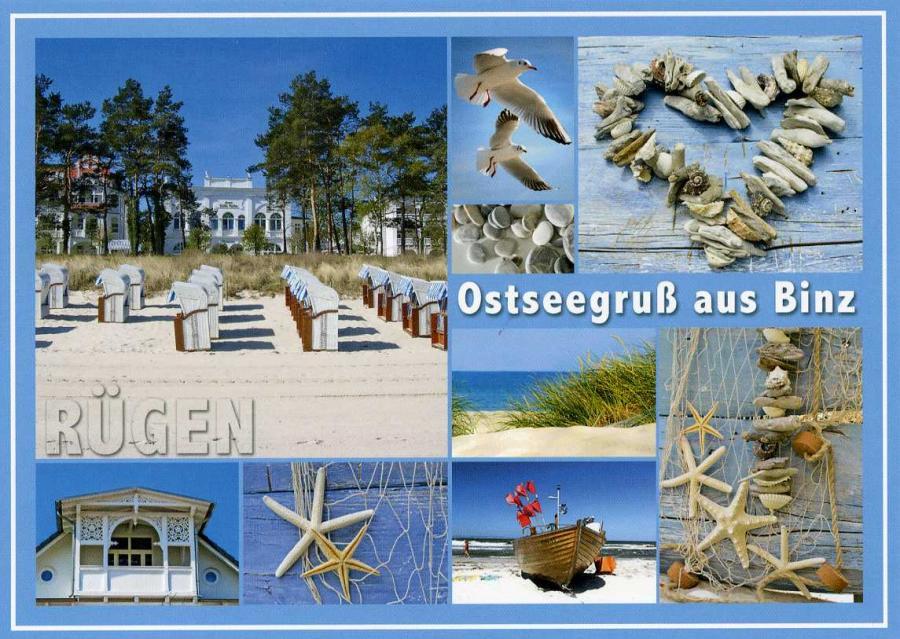 Ostseegruß aus Binz