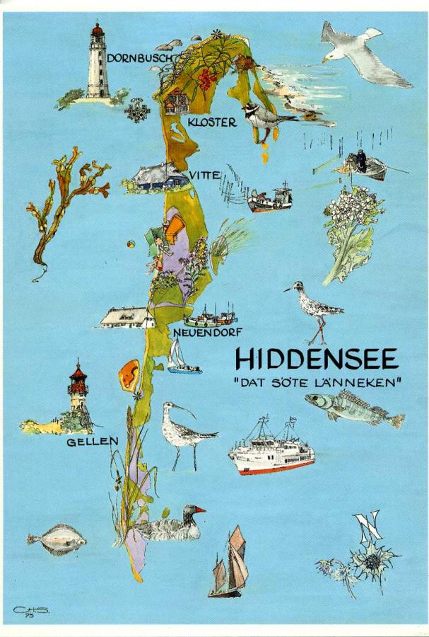 Ostseeinsel Hiddensee