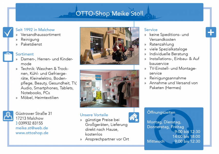 Otto-Shop Malchow