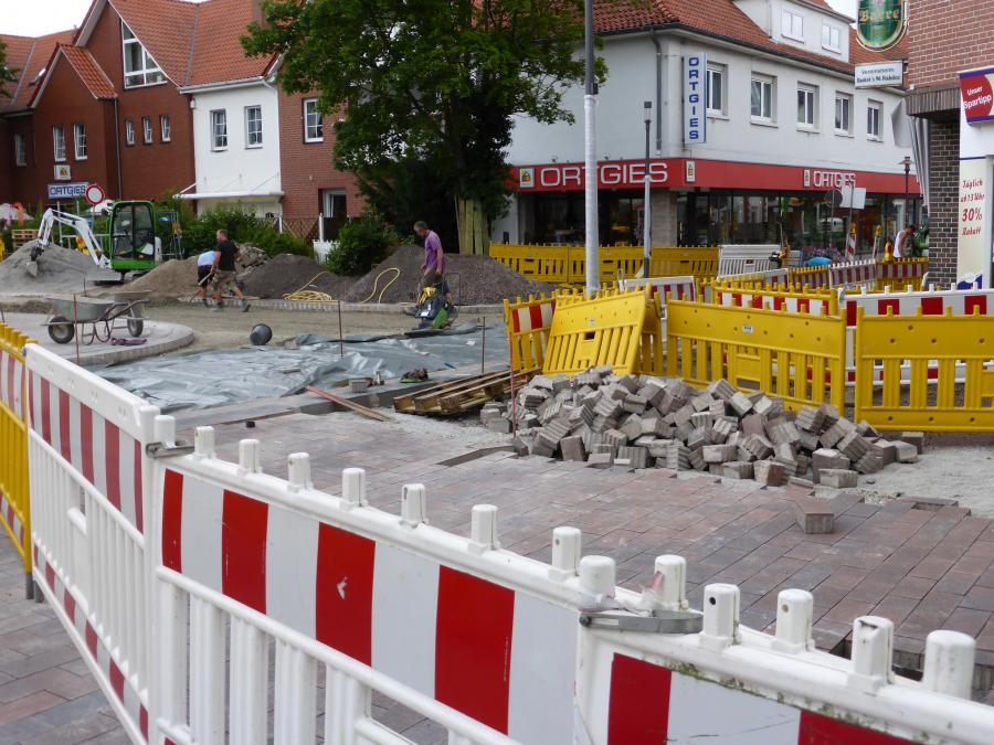 Umbauarbeiten Glindower Platz