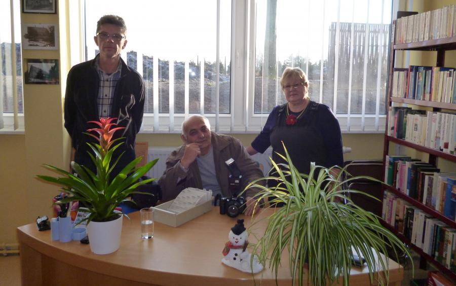 Neueröffnung der Bibliothek 14.01.2012