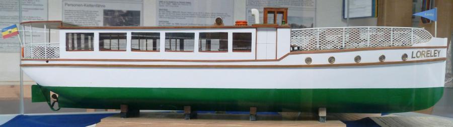 Fahrgastschiff LORELEY passenger ship