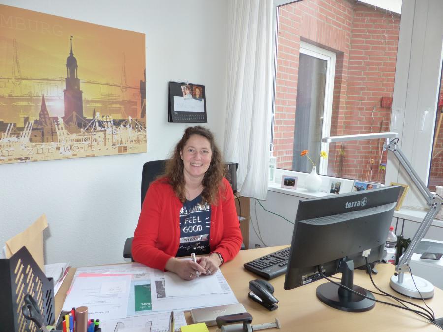 unsere Schulleiterin Johanna Gilleßen