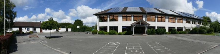 Schule im Grünen - Panorama