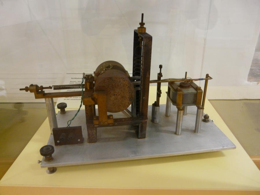 Elektronisches Vertikalseismometer