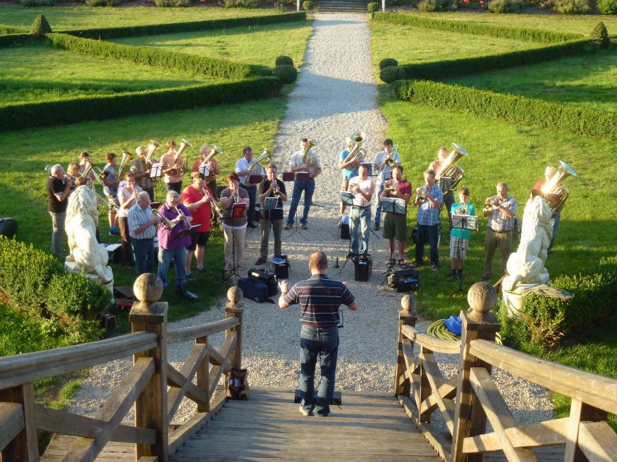 Probe Posaunenchöre Hohlach und Simmershofen