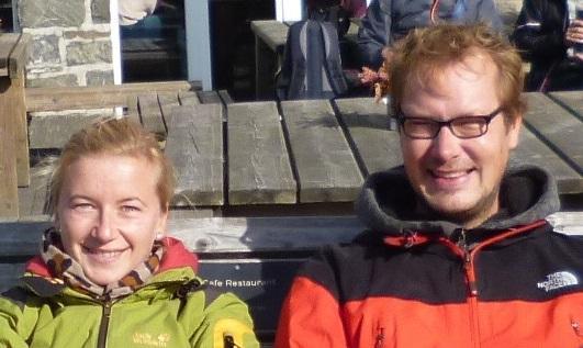 Kinder- und Jugendreferenten S. Gimbel und S. Grede