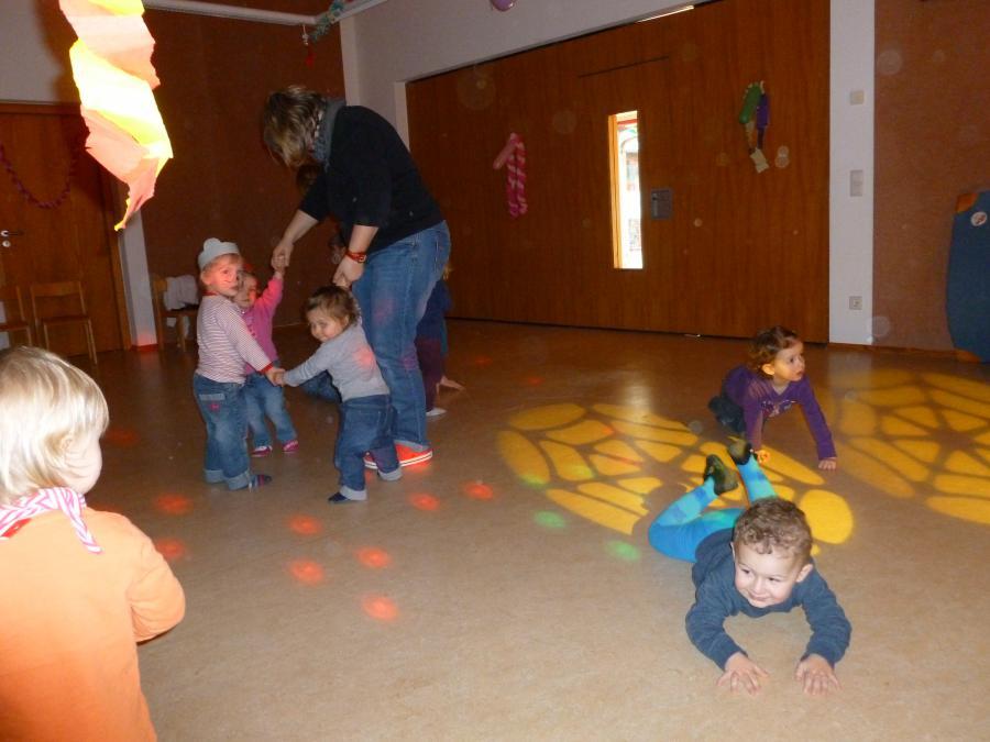 Kinderdisco für Krippe und Kindergarten