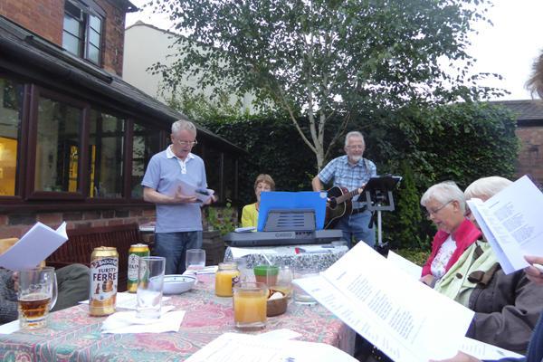 Besuch der Gartengruppe in Kidderminster