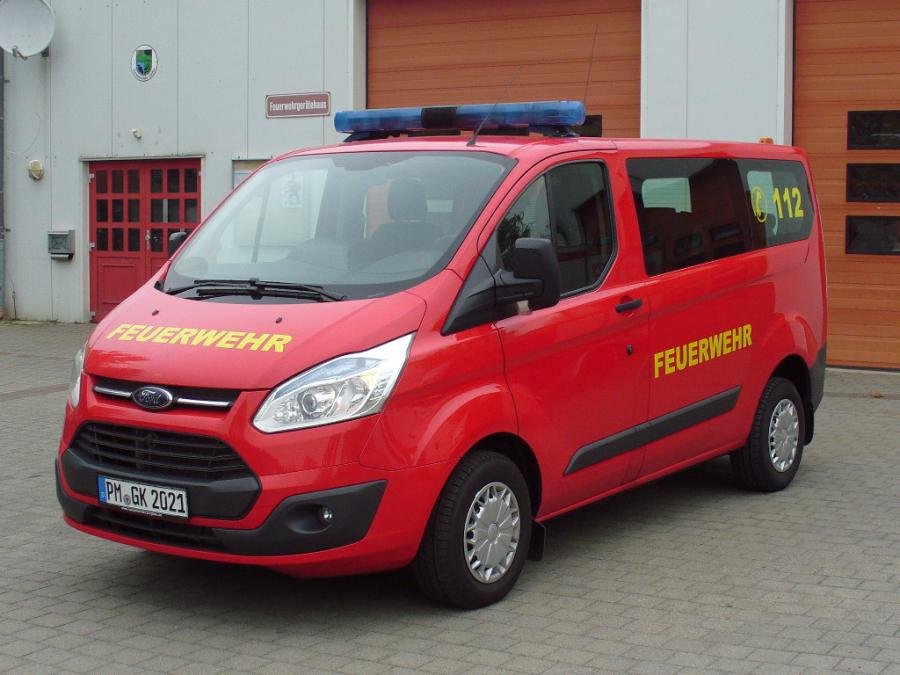 Fahrzeugübergabe MTW 2014