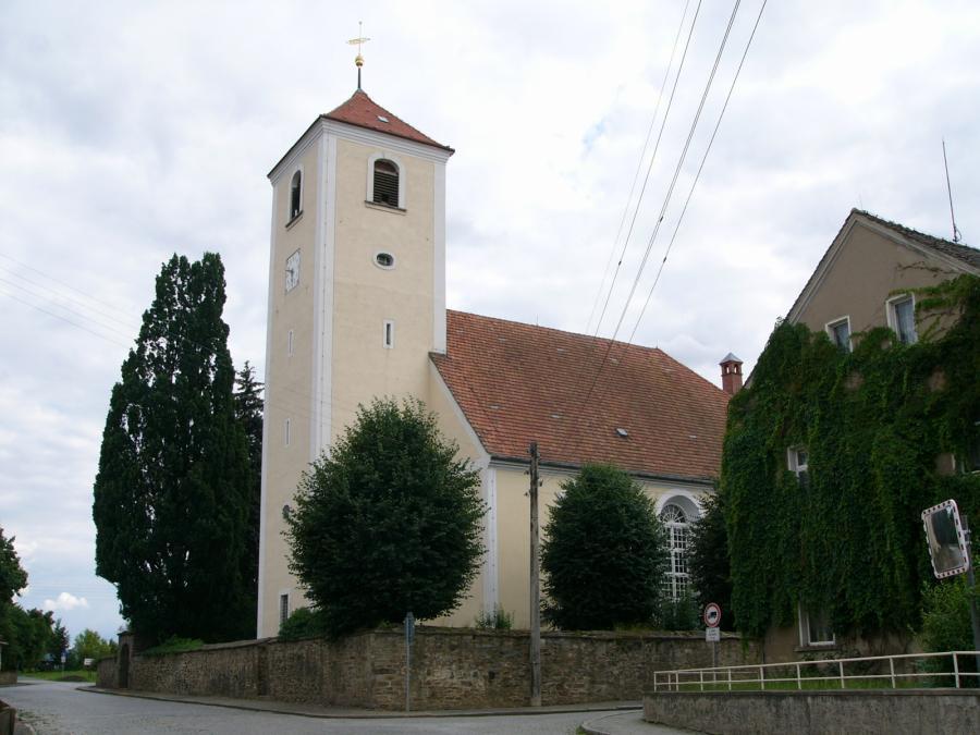 Die Kirche Purschwitz