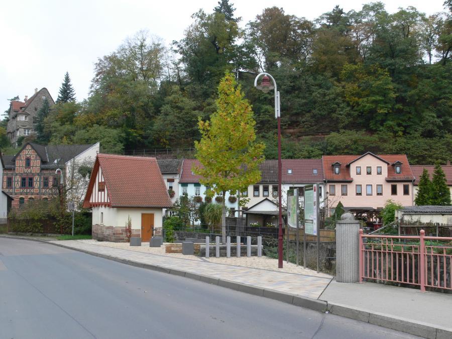 Stadtroda in Grün