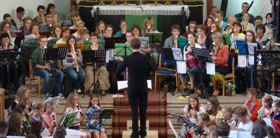 Flötenkreistreffen 2015 in Oberwiesenthal