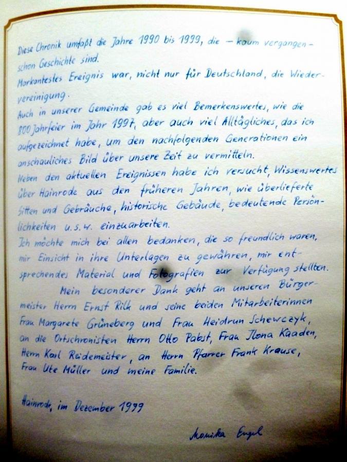 Chronik - Verfasser