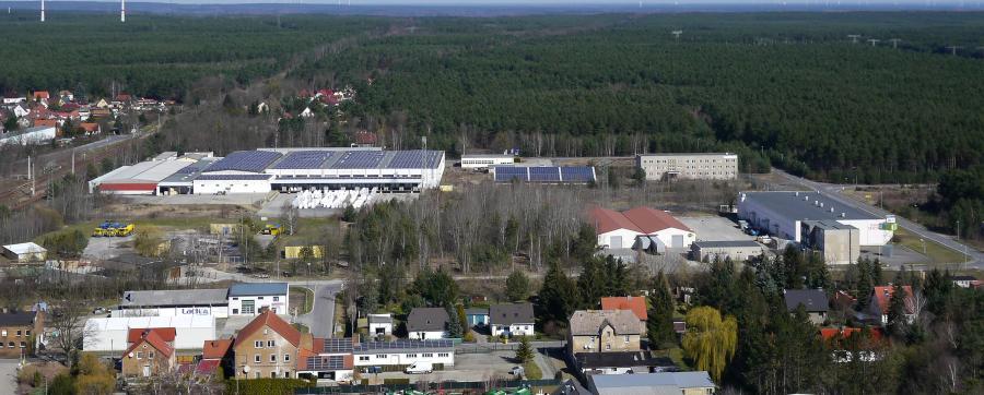 Luftbild Woschkower Weg 2