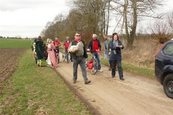 Foto: Eröffnung des Märchenland-Radrundweges