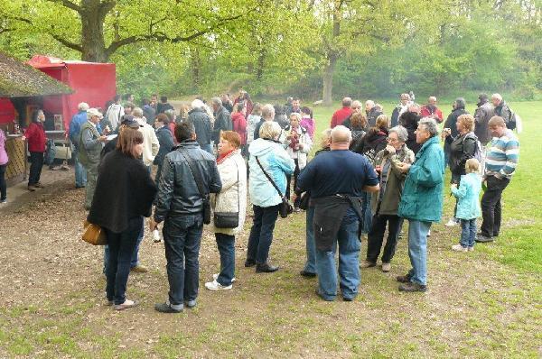 Foto: Feier anlässlich 20 Jahre Städtepartnerschaft zwischen Montaigu in Frankreich und Immenhausen