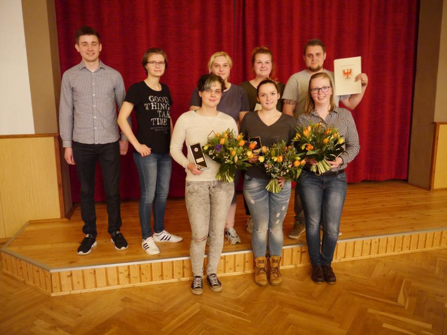 Teilnehmer Landesmelkwettbewerb