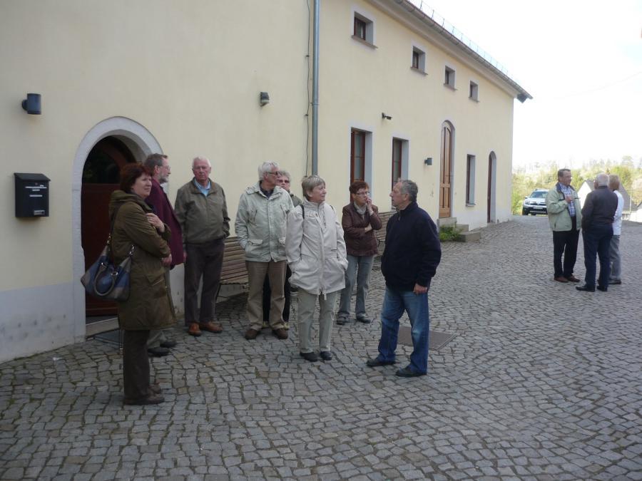 Besuch im Kloster Marienthal in Sornzig