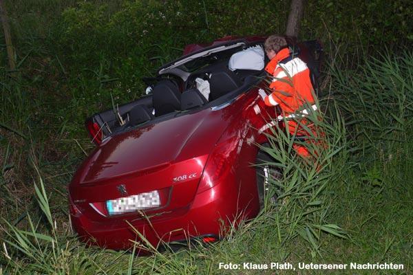 """Einsatz """"Personensuche nach Verkehrsunfall"""", Finkenburg"""