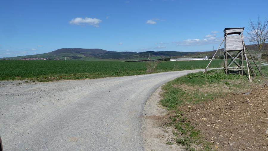 Viele Wege führen von Schwarza nach Dillstädt - Am 8. Mai 2016 geht es hier entlang